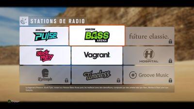 Toutes les stations ne sont malheureusement pas disponibles dans la démo du jeu...