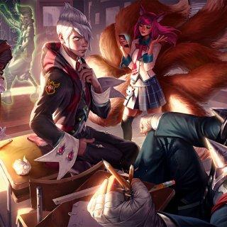 Les artworks de League of Legends sont toujours envoûtants.