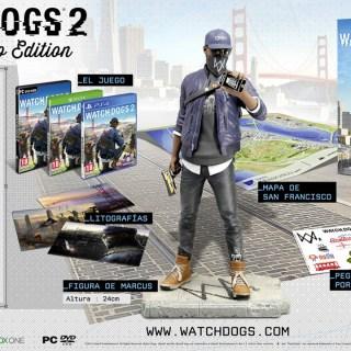 L'édition collector de Watch Dogs 2 (San Francisco) !