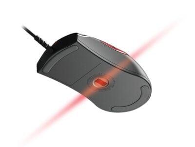 En mettant la sensibilité la plus haute dans les jeux, vous profiterez de la rapidité et de la précision de la souris !