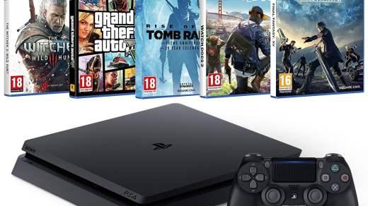 La PS4 + 5 hits (appelons un chat un chat) à 349€ !