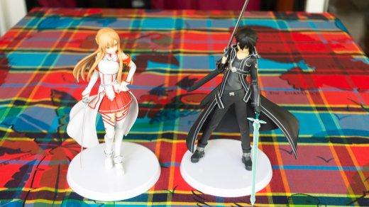 N'empêche qu'on a droit à deux figurines dans l'édition collector de Sword Art Online !