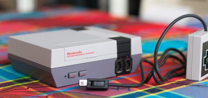 La NES Mini Classic dispose d'une finition remarquable la rendant craquante !