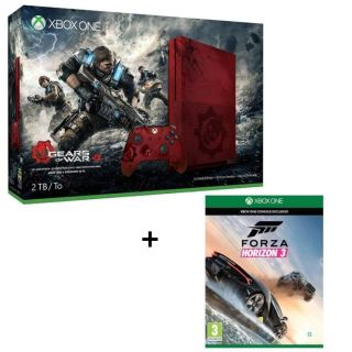 Xbox One S Collector 2 to + Forza Horizon 3 à 399€ !