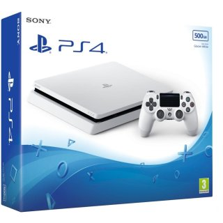La PS4 Slim est disponible depuis peu en blanc !