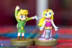Amiibo Link & Zelda Wind Waker 30th anniversary