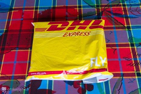 Le tout livré par DHL, la classe ^^ !