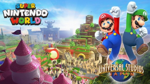 """Bon bah voilà ! Un premier aperçu de ce """"parc d'attraction"""" Nintendo :) !"""