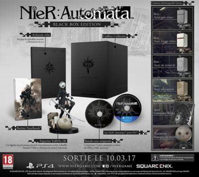 L'édition collector de Nier Automata