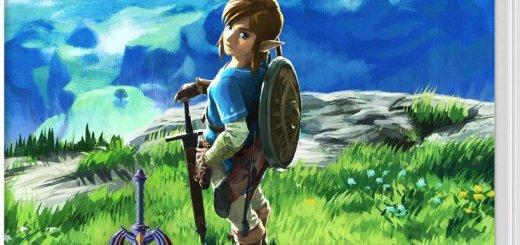 J'aime l'artwork de la jaquette de Zelda Switch !