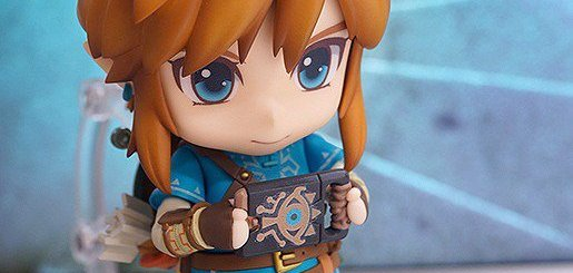 Le Nendoroid Link Breath of the Wild et sa mini Nintendo Switch (enfin tablette Sheikah)