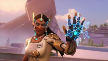 Symmetra Legendary skin 2017 wallpaper