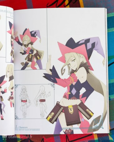 Artbook de L'éditon collector de Tales of Berseria