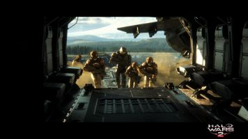 Halo Wars 2 Cinematic Still Boarding Party