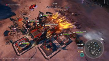 Halo Wars 2 MP Ashes Firebase on Fire
