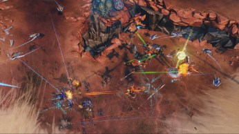 Halo Wars 2 MP Ashes Sentinel Swarming