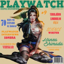 Playwatch featuring Hanzo (si si c'est vrai)