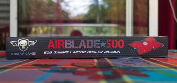 J'adore le packaging de ce AirBlade 500 ! C'est de bonne augure !