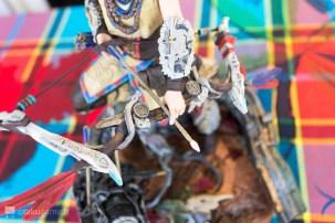 Figurine de l'édition collector de Horizon Zero Dawn (Aloy)