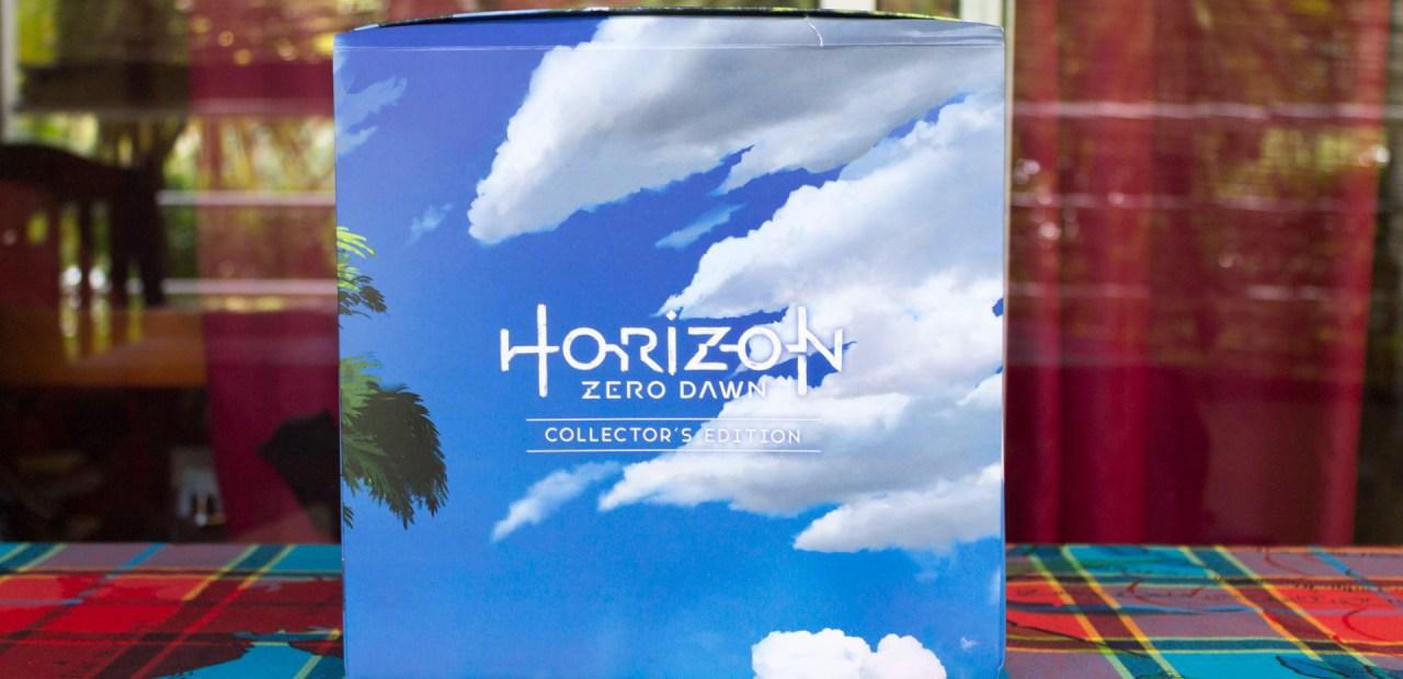 Cette édition collector de Horizon Zero Dawn est chiche, mais plaisante.