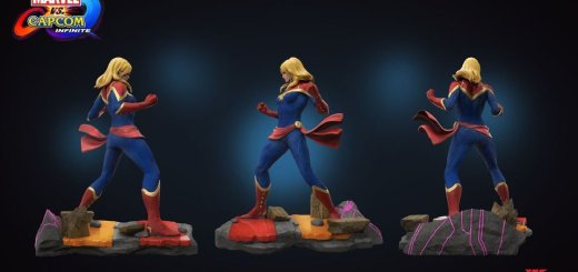 Figurine de Super Girl