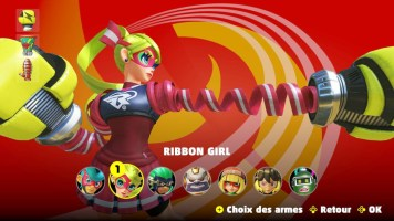 Ribbon Girl (ARMS)