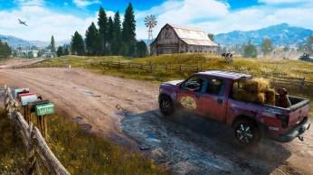 Far Cry 5 aura comme d'habitude des phases en voitures !