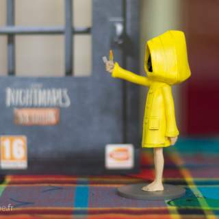La jolie figurine de l'édition collector de Little Nightmares ^^ !