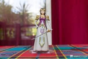 La figurine Figma Zelda est juste radieuse ^^ !