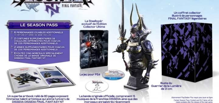 Le collector Dissidia Final Fantasy à 199.99€
