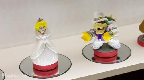 Amiibo Bowser & Peach Mario Odyssey