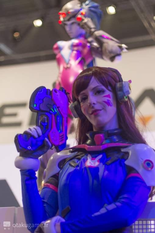 Cosplay D.va Gamescom 2017