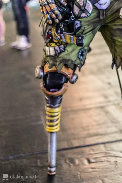 Cosplay Junkrat Gamescom 2017