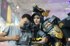 Cosplay Pharah Gamescom 2017