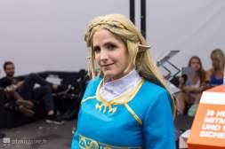 Cosplay Zelda Breath of The Wild Gamescom 2017