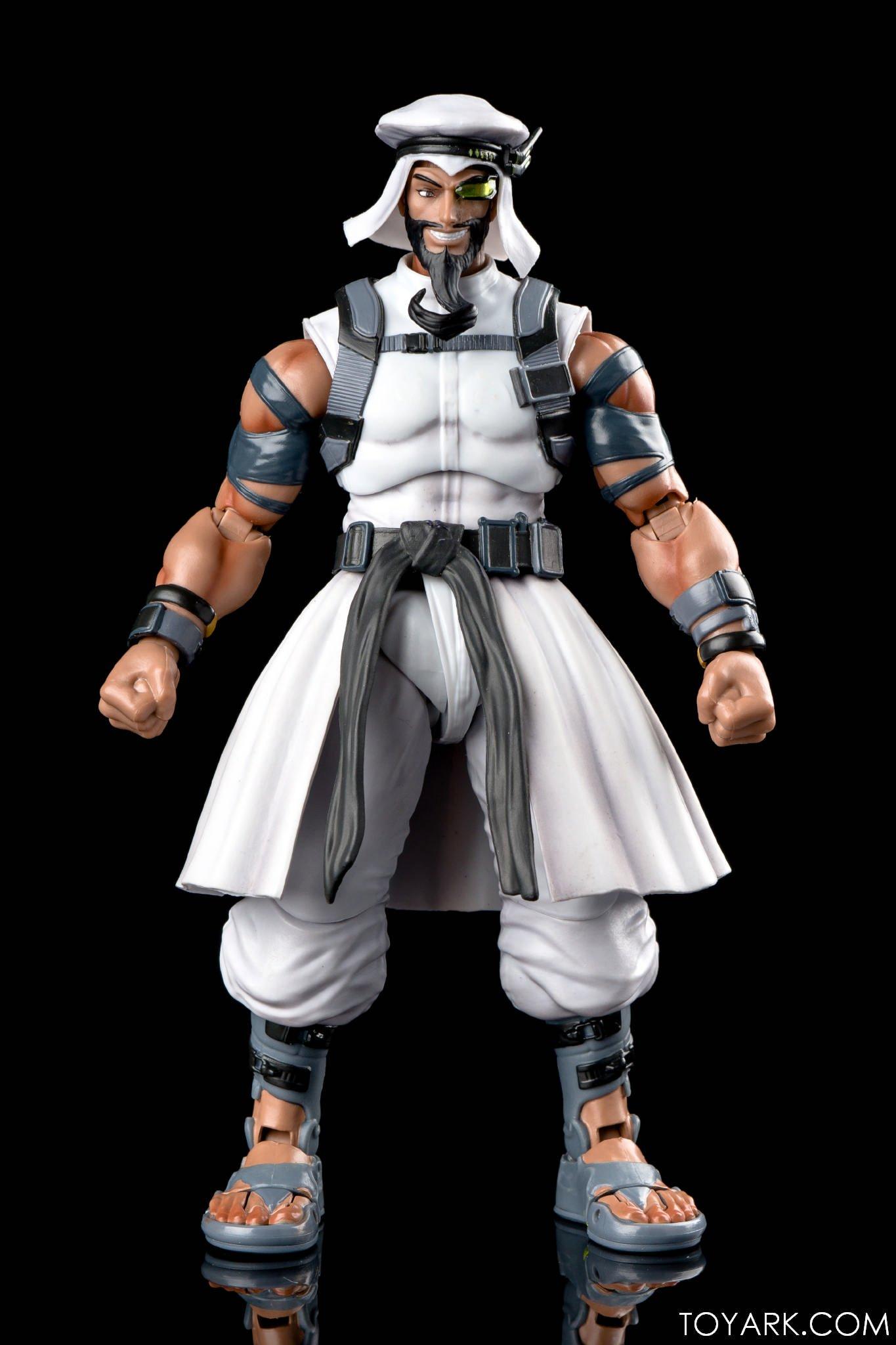 Figurine de Rashid (Street Fighter V)