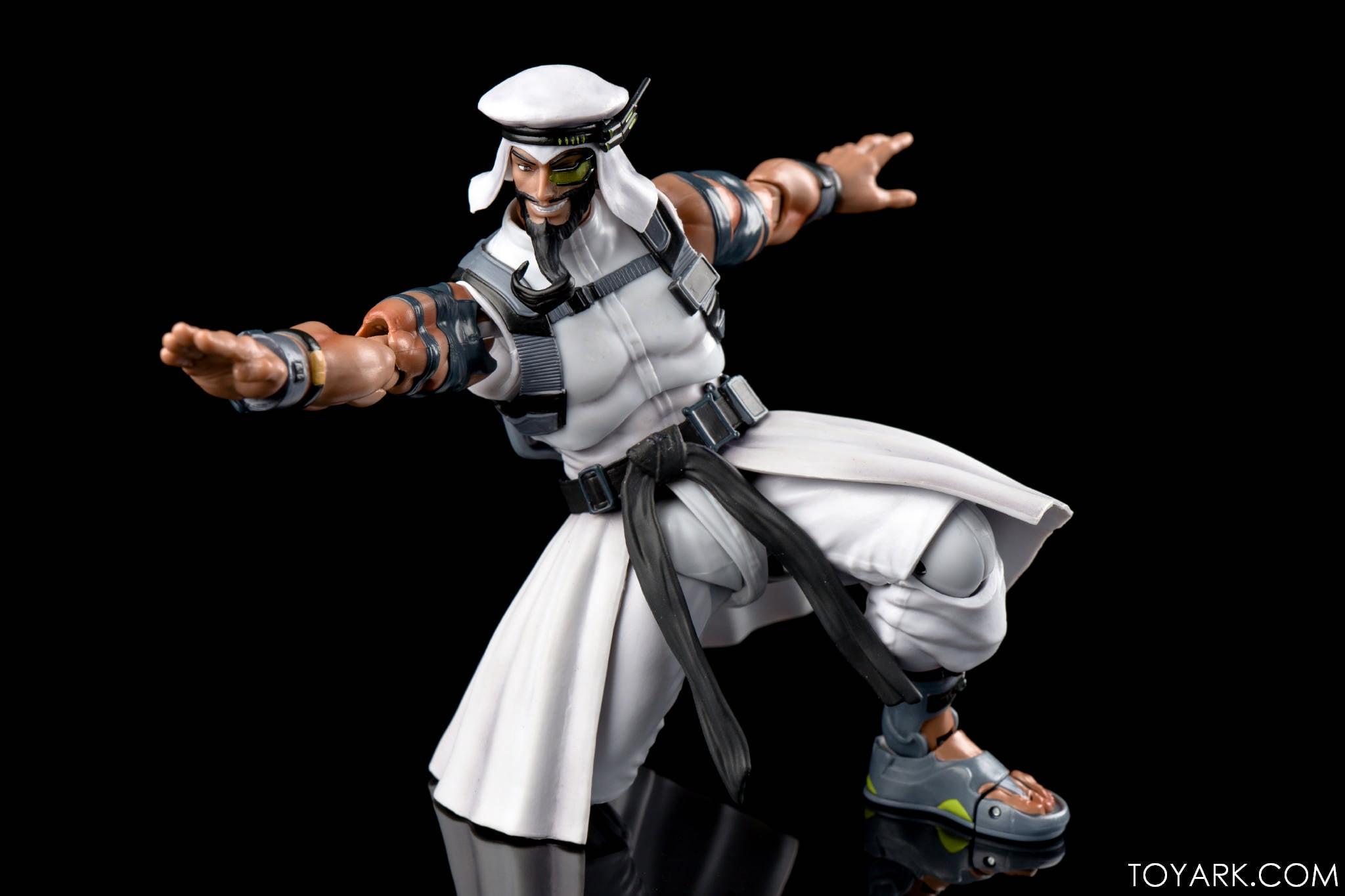 Figurine de Rashid (Street Fighter V)Figurine de Rashid (Street Fighter V)