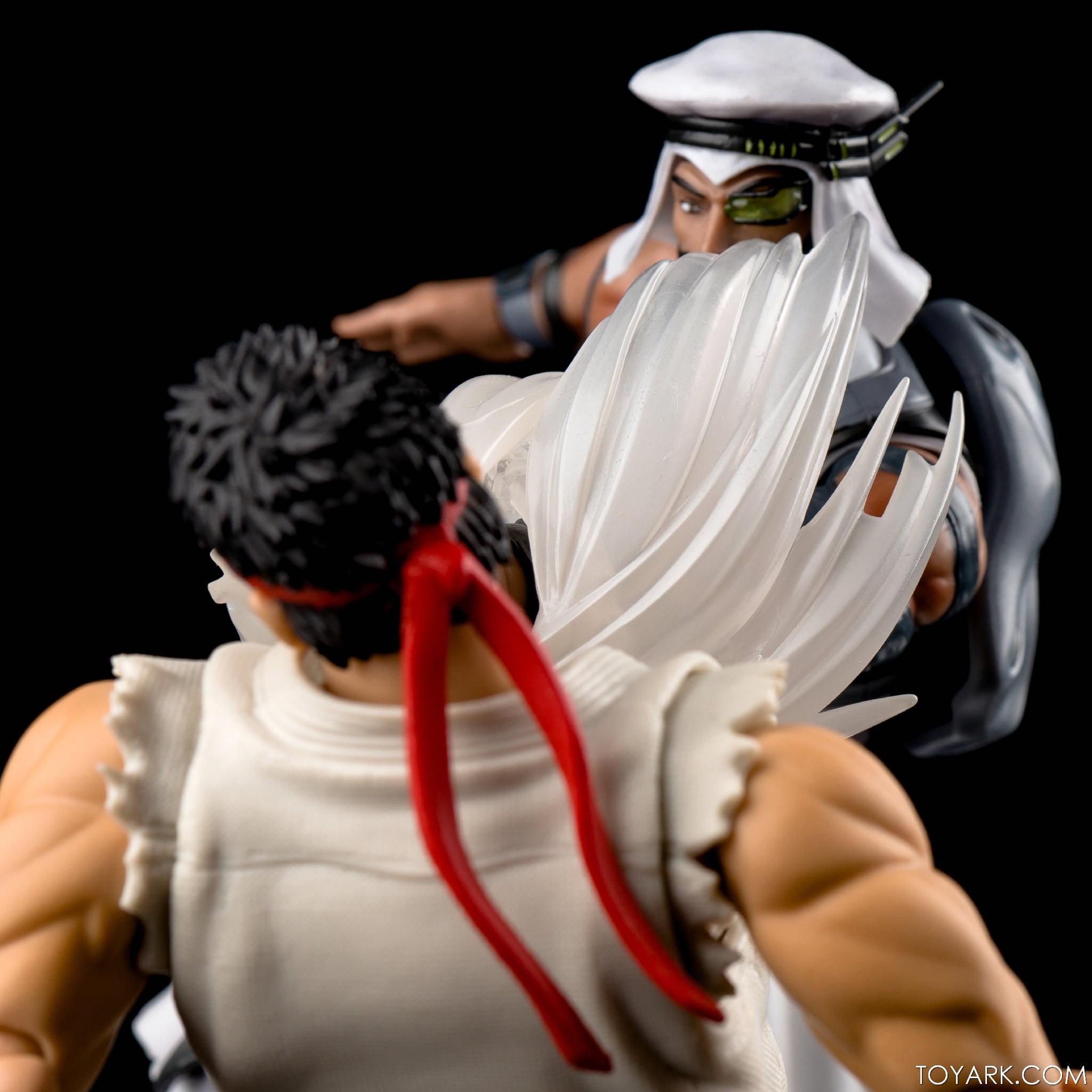 Figurine de Rashid & Ryu (Street Fighter V)