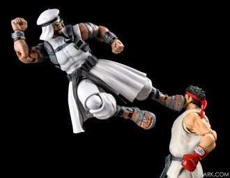 Figurine de Rashid & Ryu (Street Fighter V)