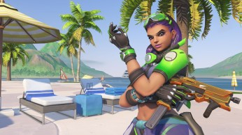Sombra - Fond d'écran Overwatch jeux d'été 2017 (40)