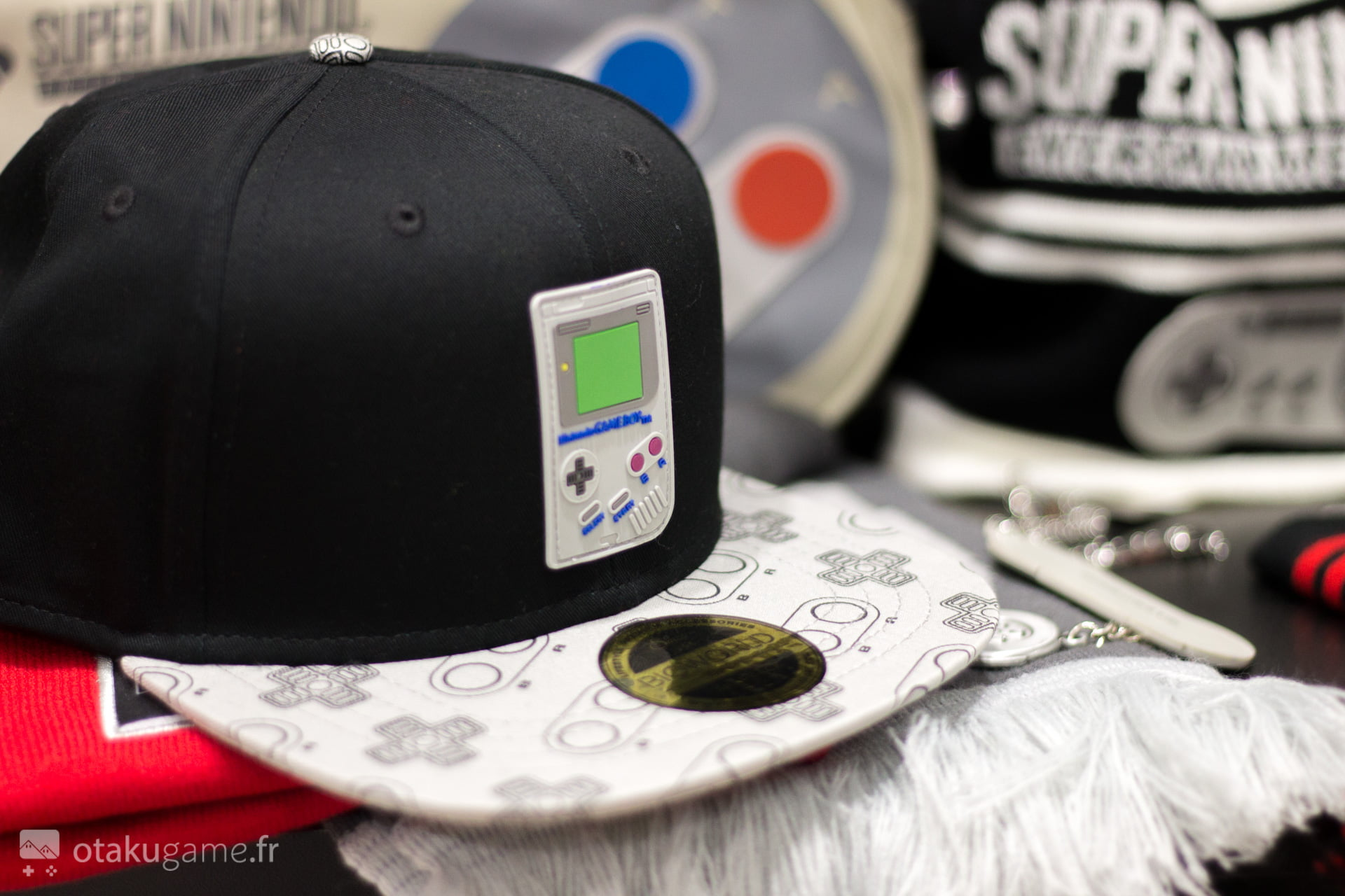 Casquette Gameboy Bioworld