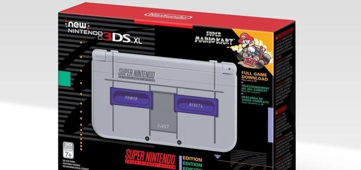 La new 3DS XL édition collector Super Nintendo en version américaine