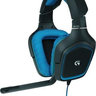 Le casque gaming Logitech G430