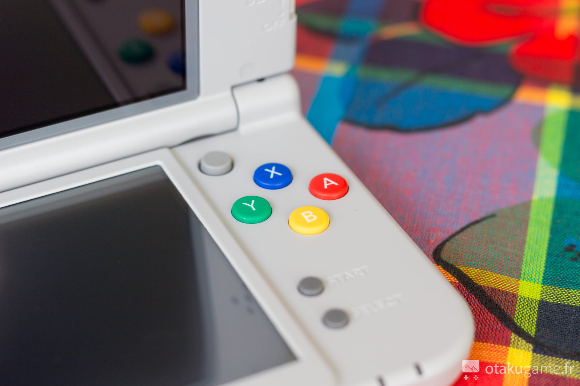 Les boutons colorés vous rappelleront bien des souvenirs...