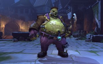 Skin Overwatch Halloween Roadhog