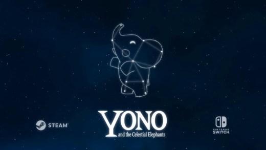 Yono and the celestial elephants sur Nintendo Switch !