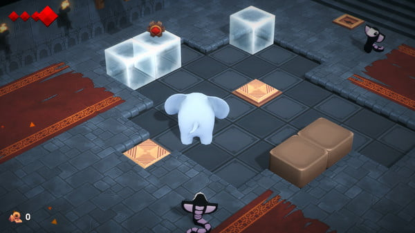 Image de la version PC de YONO AND THE CELESTIAL ELEPHANTS