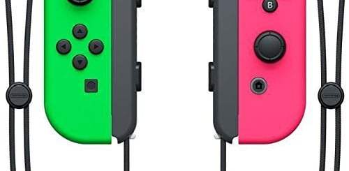 Joycons Splatoon 2 Nintendo Switch