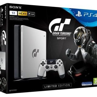 Promotion sur la PS4 édition collector Gran Turismo Sport