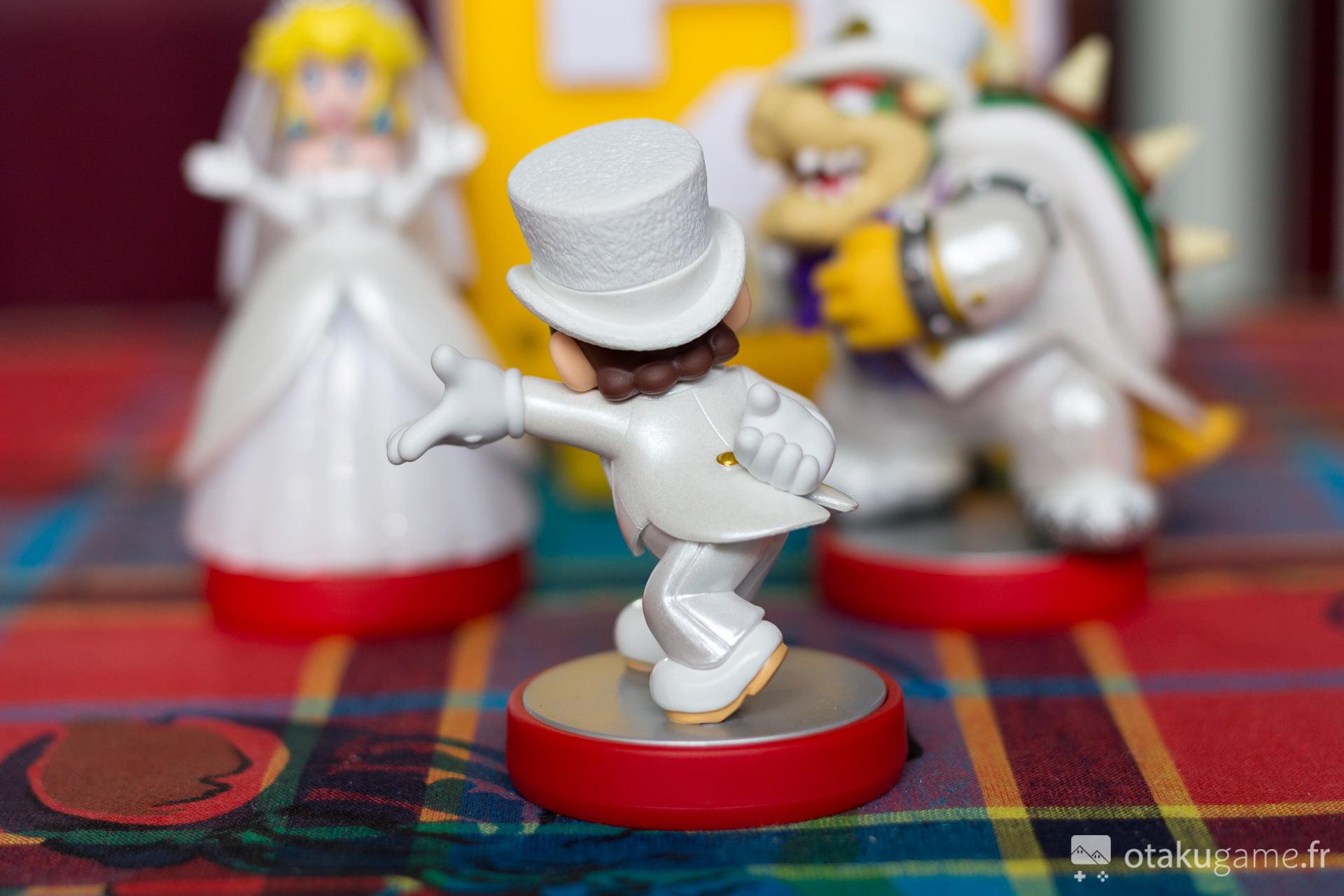 Amiibo Mario Marié Mario Odyssey